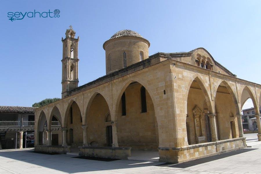 Aziz Mamas Kilisesi Kıbrıs