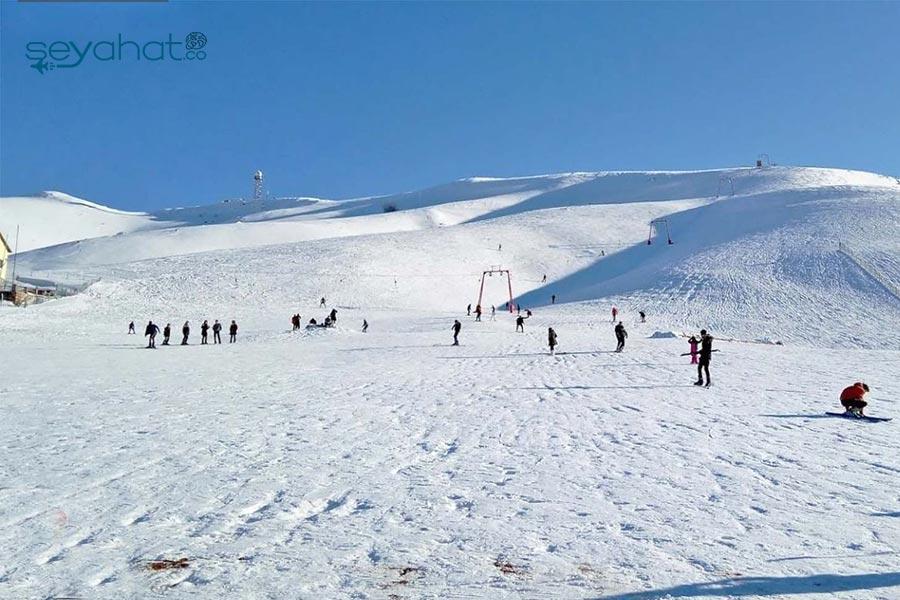 Elmadağ Kayak Merkezi Pistleri