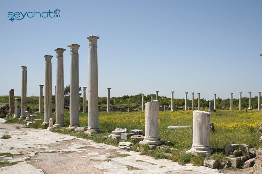 Salamis Harabeleri Kıbrıs