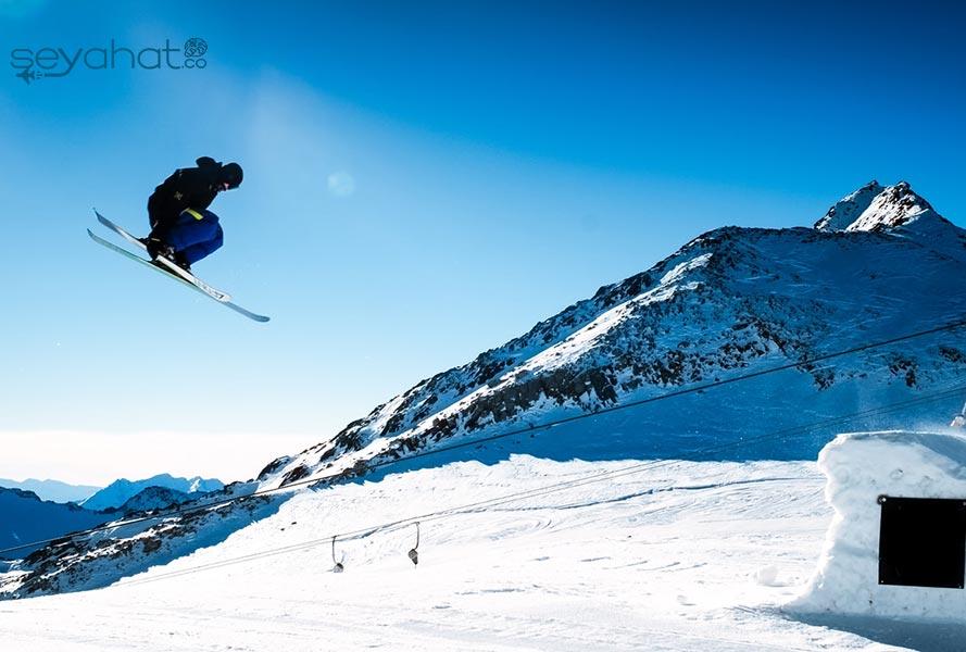 Salda Kayak Merkezi Pistler