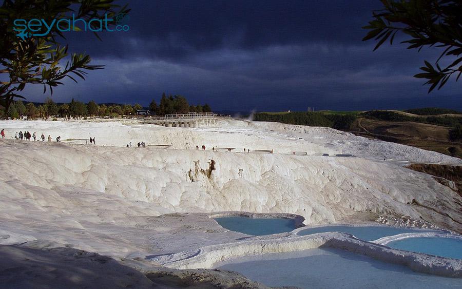 Pamukkale Travertenleri Denizli